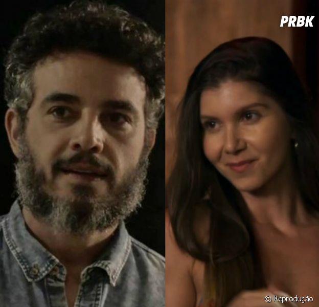 """Em """"O Outro Lado do Paraíso"""":Juvenal (Anderson Di Rizzi) descobre a verdade sobre Desireé (Priscila Assum)"""