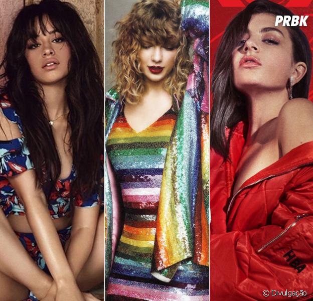 """É real! Taylor Swift confirma que Camila Cabello e Charli XCX abrirão os shows da """"Reputation Stadium Tour"""""""