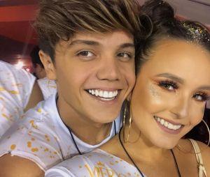 Larissa Manoela e Leo Cidade completaram dois meses de namoro recentemente