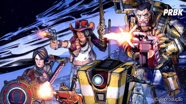 """Os quatro personagens jogáveis de """"Borderlands: The Pre-Sequel"""""""