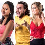 """No """"BBB18"""", Gleici, Diego e Jéssica formam oitavo Paredão! Quem deve sair?"""