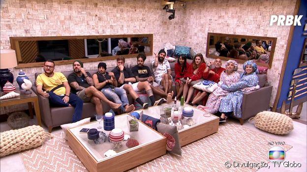 """Neste domingo (19), o """"BBB18"""" formou seu oitavo Paredão com Gleici, Diego e Jéssica"""