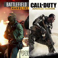 "Qual melhor shooter de 2015? ""Battlefield Hardline"" ou ""COD: Advanced Warfare"""
