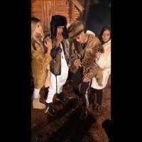 MC Kevinho e Flavia Pavanelli gravam clipe juntos e mostram bastidores para os fãs!
