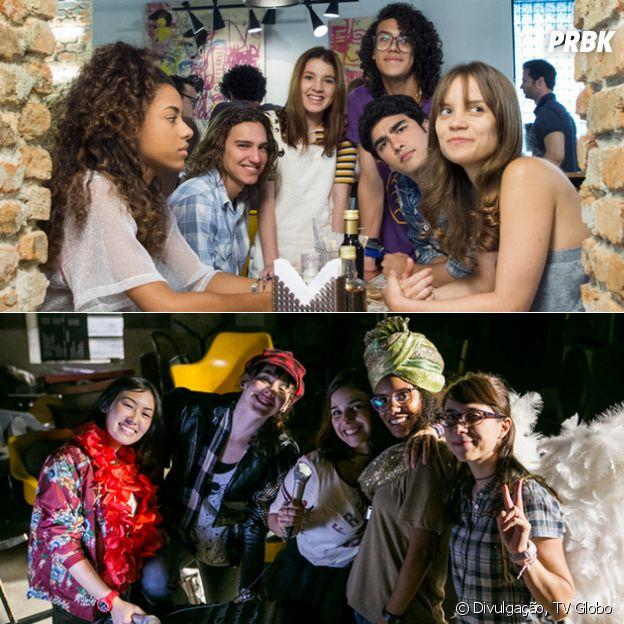 """5 provas de que """"Malhação - Vidas Brasileiras"""" e """"Viva a Diferença"""" não são tão diferentes assim"""