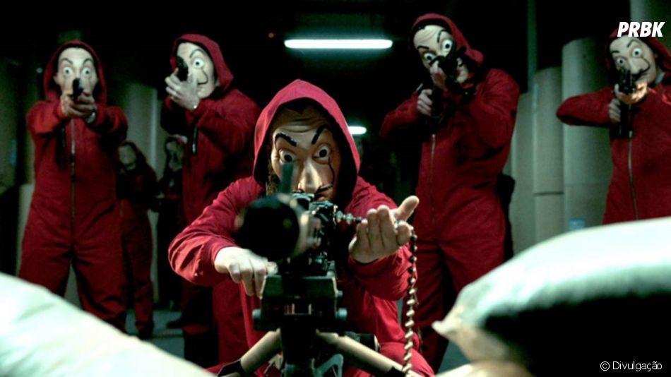 """Após o sucesso estrondoso de """"La Casa de Papel"""", a Netflix já anunciou uma terceira temporada"""
