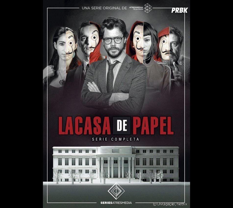 """Netflix confirma 3ª temporada de """"La Casa De Papel"""""""