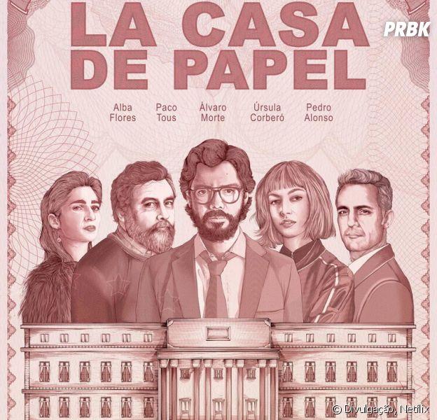 """Netflix confirma parte 3 de """"La Casa De Papel"""""""