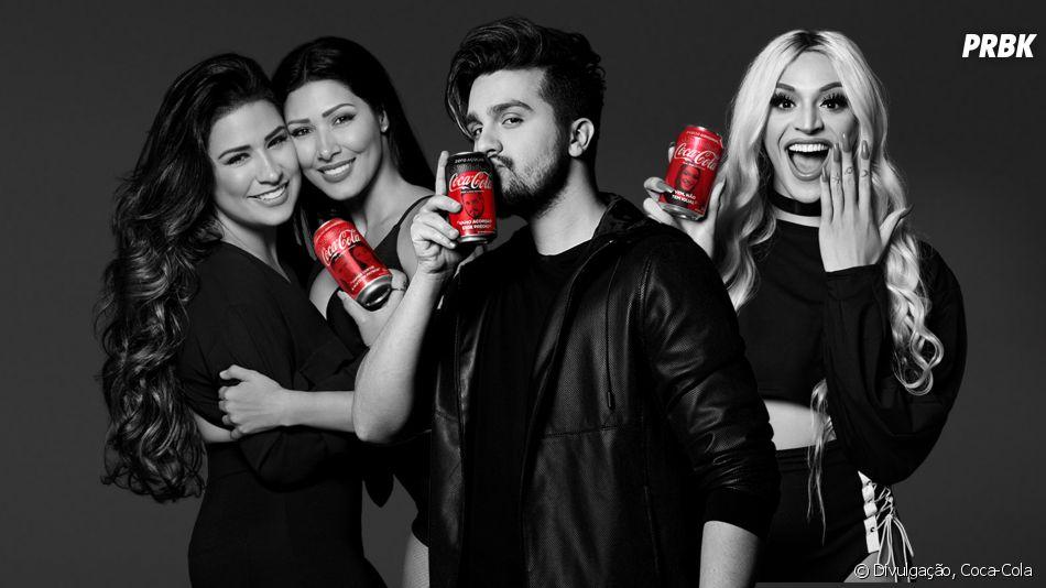 Luan Santana, Pabllo Vittar e Simone & Simaria foram os vencedores do Fan Feat da Coca-Cola