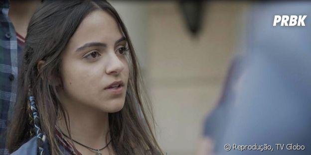"""Amanda é gente boa com todo mundo em """"Malhação - Vidas Brasileiras"""""""