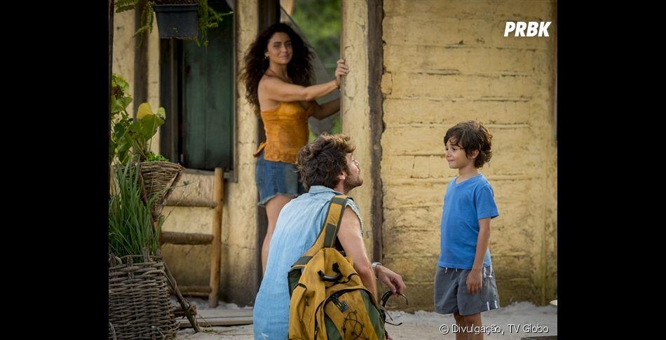 """Em """"Segundo Sol"""", Luzia (Giovanna Antonelli) é mãe de Ícaro ( Thales Miranda)"""