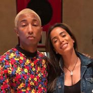 Anitta encontra com Pharrell Williams, famoso produtor americano, nos EUA!