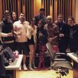 Anitta se encontra com Pharrell Williams e Bia em estúdio americano