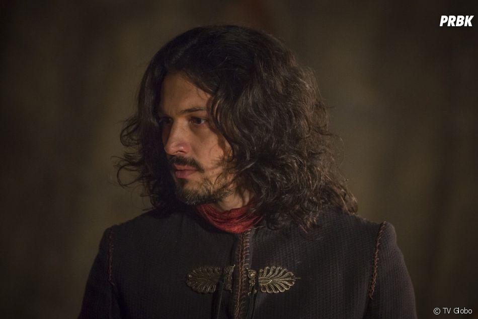 """Em """"Deus Salve o Rei"""", Afonso (Romulo Estrela) diz que ela ficará em outro castelo até que Artena fique estabilizada"""