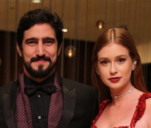 Renato Góes e Marina Ruy Barbosa posaram juntos para campanha de Dia dos Namorados e atriz recebeu várias críticas