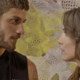 """Novela """"Segundo Sol"""": Rosa (Letícia Colin) diz que Ícaro (Chay Suede) não é seu dono e que ela dança com quem quiser"""