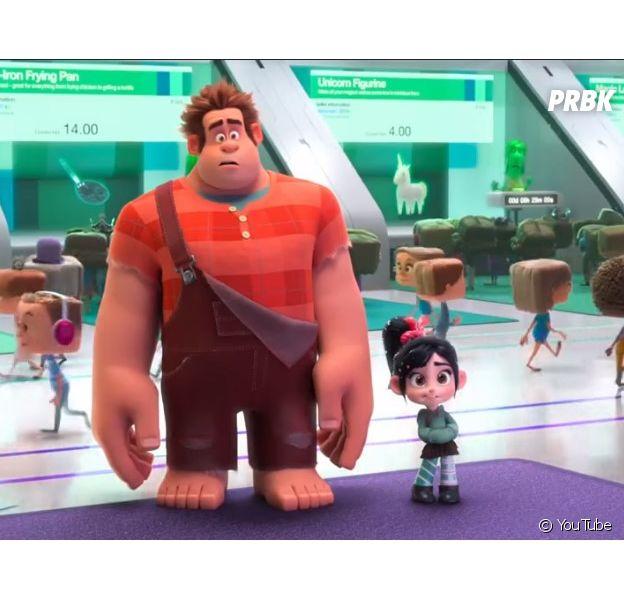 """Filme """"WiFi Ralph"""": novo trailer do filme mostra os personagens se divertindo e entrando em confusões na internet"""