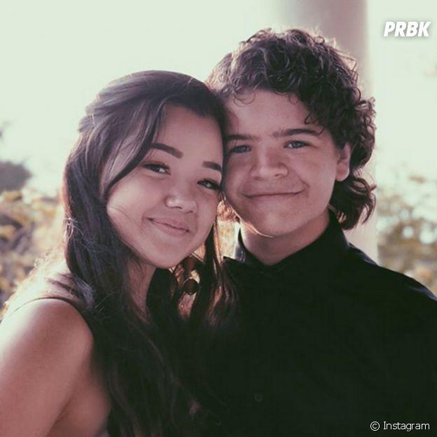 "Gaten Matarazzo, o Dustin de ""Stranger Things"", posta fotos em clima de romance com Lizzy Yu"