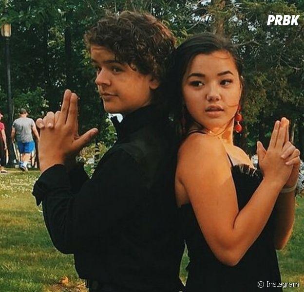 "Gaten Matarazzo, de ""Stranger Things"", surpreende fãs postando fotos românticas com Lizzy Yu"