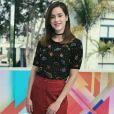 """Estamos apaixonados por esta blusinha cheia de planetas que Sophia Abrahão usou no """"Vídeo Show"""""""