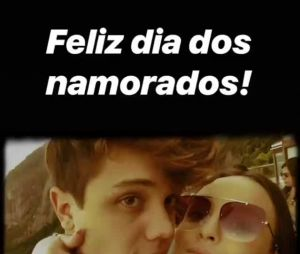 Larissa Manoela curte Dia dos Namorados fazendo homenagem para Leo Cidade