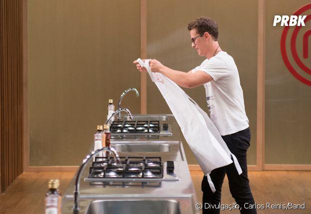 """Com Rui eliminado do """"MasterChef Braisl"""", restam nove pessoas na cozinha mais famosa do país"""