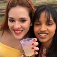 """Ana Clara e Gleici, do """"BBB18"""", se encontram no Acre: """"To aqui com a minha amiga"""""""