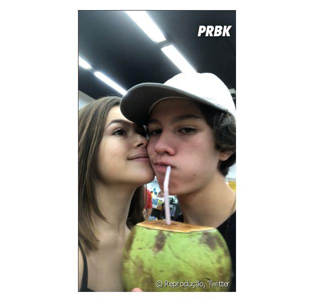 Maisa Silva e Nicholas Arashiro trocam declarações no 7º mês de namoro