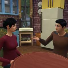 """Em """"The Sims 4"""": Séries """"Friends"""" e """"Seinfield"""" são recriadas no game"""
