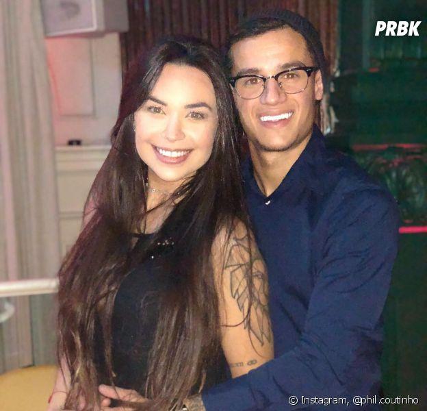 Philippe e Aine Coutinho se conhecem há mais de uma década e são casados desde 2012