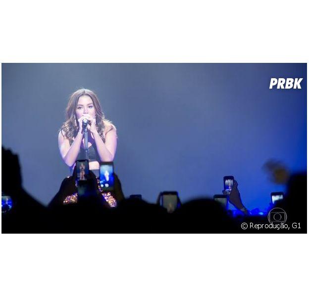 Anitta mostrou todos os passos da turnê na Europa ao Fantástico