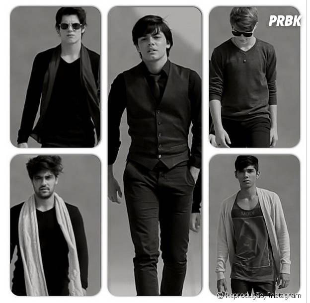 Banda Só Cinco é formada por cinco integrantes