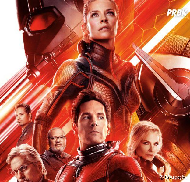 """""""Homem-Formiga e a Vespa"""" é o 20° filme da Marvel a estrear no topo das bilheterias"""