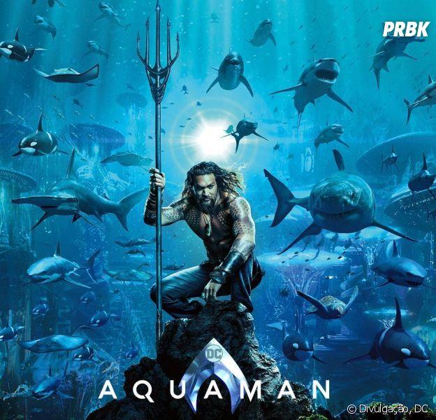 """""""Aquaman"""" estreia nos cinemas americanos no dia 21 de dezembro"""