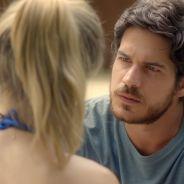 """Na novela """"Boogie Oogie"""": Rafael visita Vitória para esclarecer a troca de bebês"""