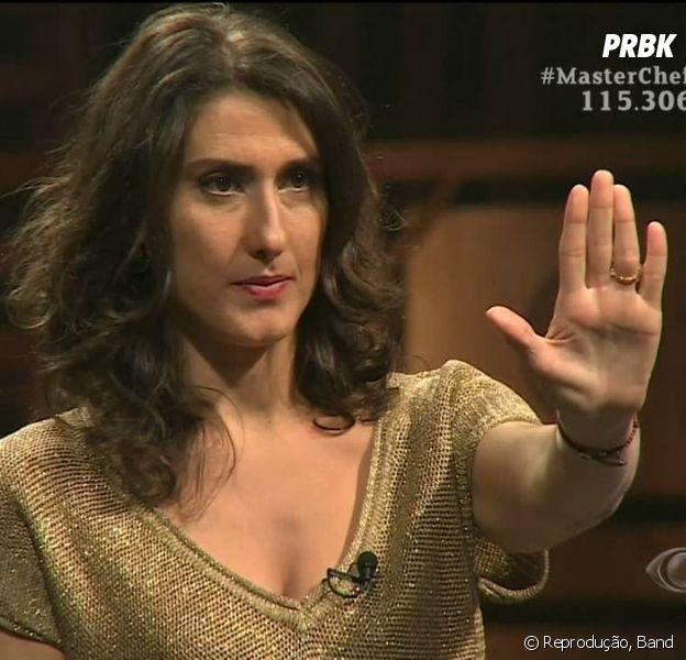 "Final ""MasterChef Brasil"": Paola Carosella responde críticas no Twitter!"