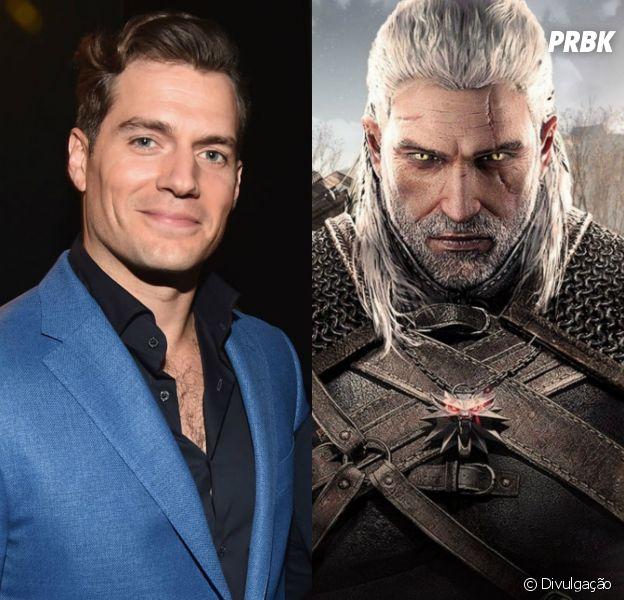 """Henry Cavill quer ser Geralt na série """"Thge Witcher"""""""