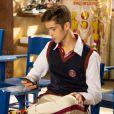 """Em """"As Aventuras de Poliana"""", Luca Tuber (João Guilherme) vai causar após se matricular na escola Ruth Goulart"""