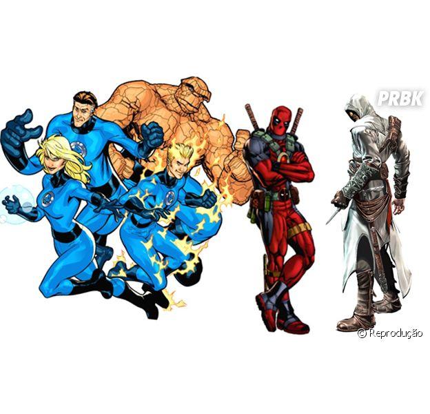 """Fox muda calendário de filmes como """"Quarteto Fantástico"""", """"Deadpool"""" e """"Assassin's Creed"""""""