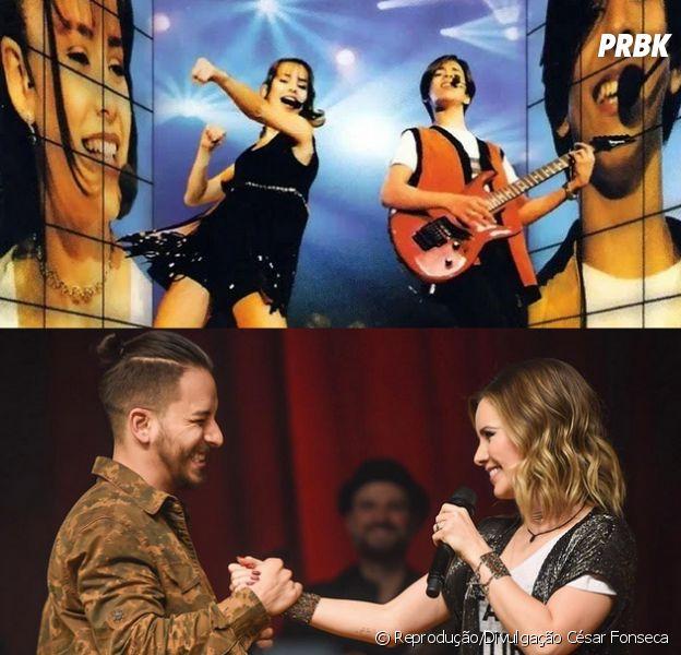 Sandy e Junior cantam juntos novamente em São Paulo