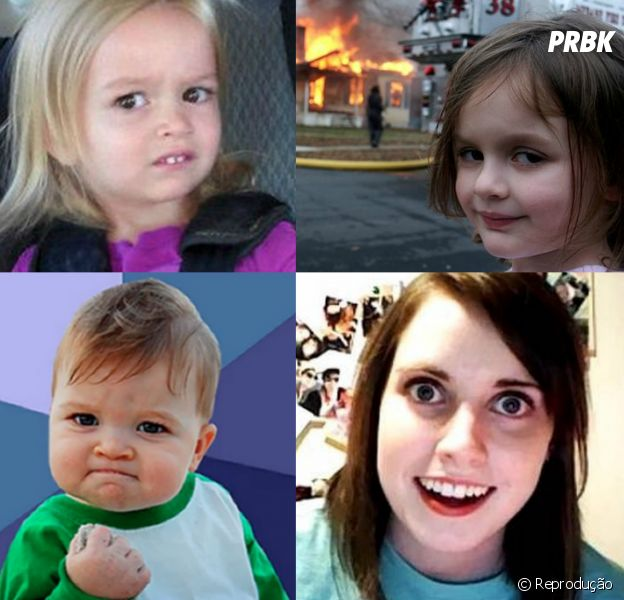 Chloe, Disaster Girl, Success Kid, Para Nossa Alegria e muitos memes que fizeram a gente rir até ficar sem ar! Como eles estão agora? Vem que a gente te mostra