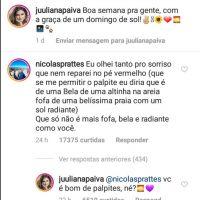 Nicolas Prattes se declarou para Juliana Paiva e nós não estamos sabendo lidar!