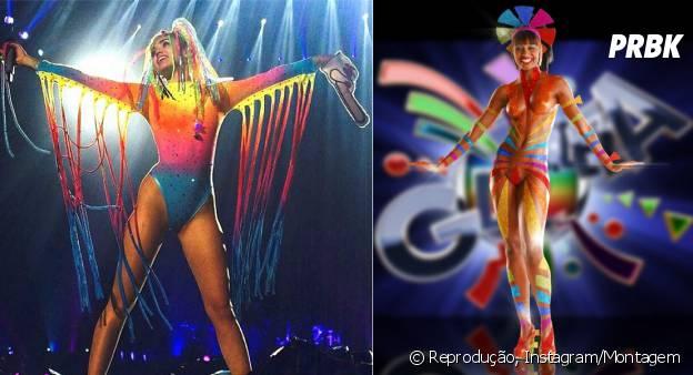 Miley Cyrus e Globeleza: Tudo a ver no look!