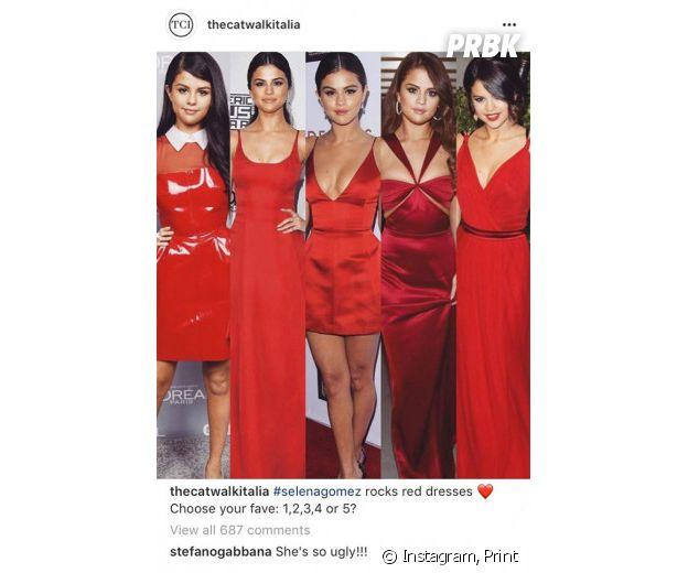 Estilista ataca Selena Gomez no Instagram