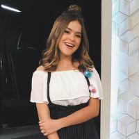 Maisa descobriu que é a adolescente mais seguida do Brasil nas redes sociais e ficou surpresa
