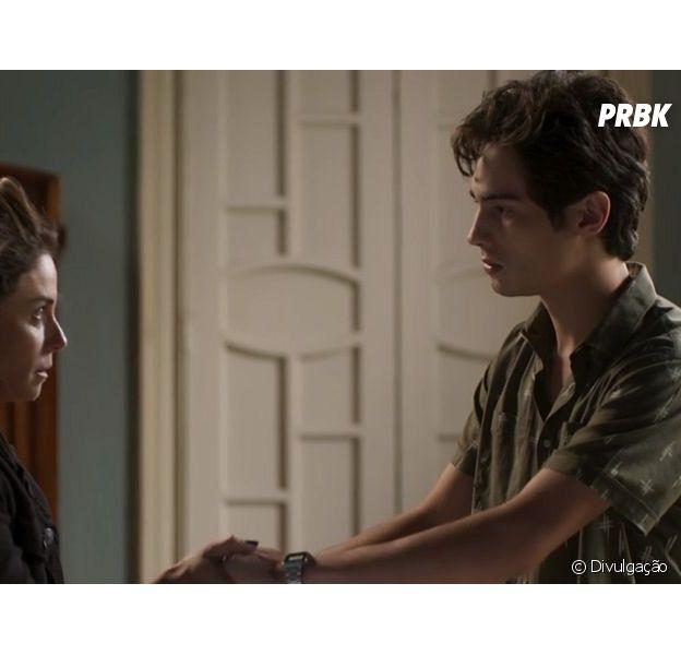 """Em """"Segundo Sol"""", Luzia (Giovanna Antonelli) e Valentim (Danilo Mesquita) têm primeiro encontro após descoberta"""