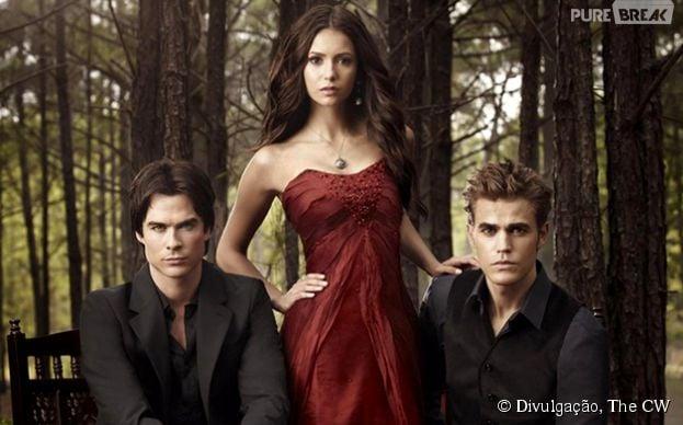 """Segundo Caroline Dries, produtora de """"The Vampire Diaries"""", quinta temporada da série tratá dilemas e romances"""