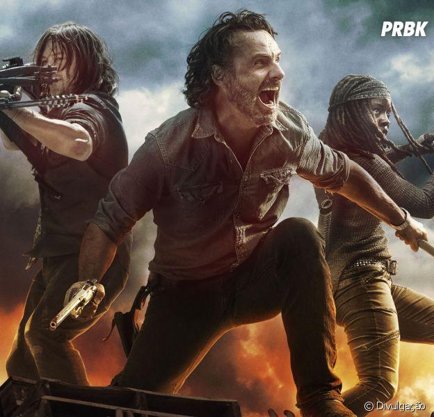 """Em """"The Walking Dead"""", 9ª temporada será parecida com faroeste"""