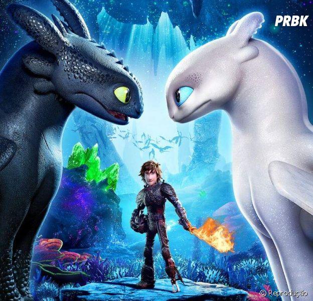 """""""Como Treinar o Seu Dragão 3"""" ganha novo trailer incrível!"""