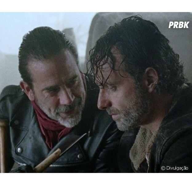 """Em """"The Walking Dead"""", Jeffrey Dean Morgan diz que saída de Andrew Lincoln foi bem aproveitada"""